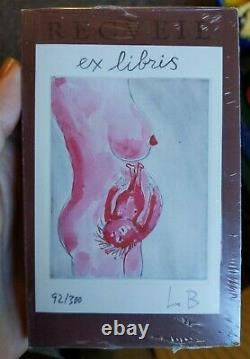 Louise Bourgeois Ex Libris No. 8 (2005) LITHOGRAPH SIGNED RARE