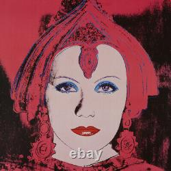 MISC03.2 1982 Andy Warhol Star Lenbachhaus Exhibition Poster Vintage Original