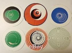 Marcel Duchamp Rotoreliefs, 1987 Konig Postcard Publishing Series 133, Set of 6