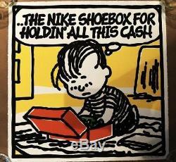 Mark Drew Chronic Art Print Peanuts Cash Box Charlie Brown Snoopy JayZ Roc Boys