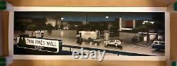 Mark Englert Back to the Future Poster RARE Print, Mint Condition