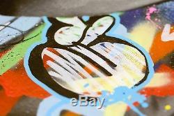 Martin Whatson Snik Memories Fade Away Hand Paint Urban Street Art Print Canvas