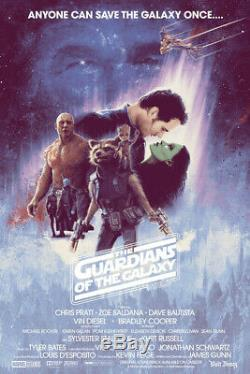 Matt Ferguson, Guardians of the Galaxy Vol. 2 Print, Marvel Comics
