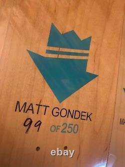 Matt Gondek MICKEY 3 Deck Set Complexcon Exclusive Skateboard 99 of 250