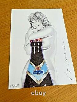 Mel Ramos Tallulah Tucher Handsigniert Nummeriert Pop-Art Geschenk
