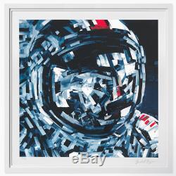 Michael Kagan We Leave As We Came Print avant arte NASA Hirst Murakami space