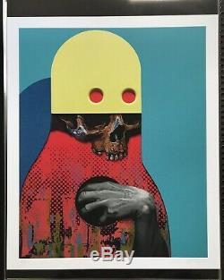 Michael Reeder For You My Love Signed Print Kaws Paul Insect Banksy Shapeshifter