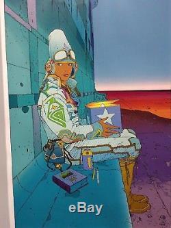 Moebius (Jean Giraud) Starwatcher Original Limited Serigraph #CXLIV / CCC