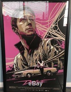 Mondo DRIVE Poster Rare Sold Out ORIGINAL Gosling Ken Taylor 154/445