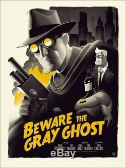 Mondo Phantom City Beware The Gray Ghost Batman Batman Animated Series Regular