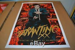 Mondo Print Ken Taylor Tarantino XX Poster Set with Giclee Mondo Dir. Ser