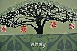 Monkey Pod Green 2005 Signed/numbered Screen Print Obey Shepard Fairey