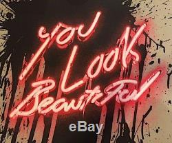 Mr. Brainwash's You Look Beautiful print, Retna, Obey, Kaws, El Mac, Banksy