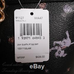 NWT Disney X Coach 91127 Elle Backpack with Dalmatian Floral Print Limited Edition