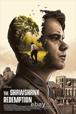 NYCC 2019 The Shawshank Redemption Amien Juugo Poster Screen Print 24x36 Mondo