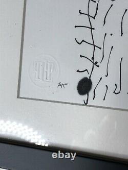 Neckface Print Artist Proof Original Drawing Signed