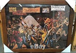 New Framed Sugar Shack Ernie Barnes Goodtimes Art Poster Print