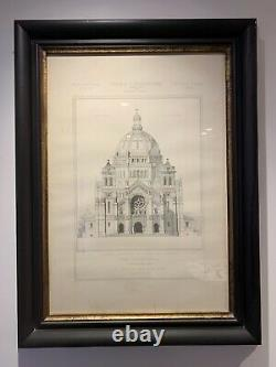 OKA Framed architectural prints (pair)