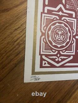 Obey Giant Shepard Fairey Proud Parents limited edition silkscreen rare
