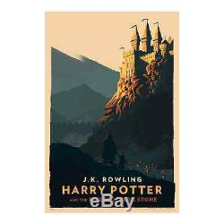 olly moss harry potter complete series 7 poster print set 16x24