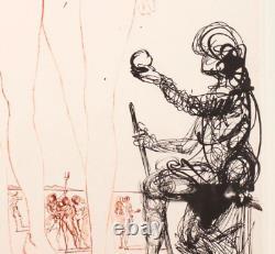 Original Salvador Dali (1904-89) Le Jugement de Pâris Kunstwerk Rarität Exklusiv