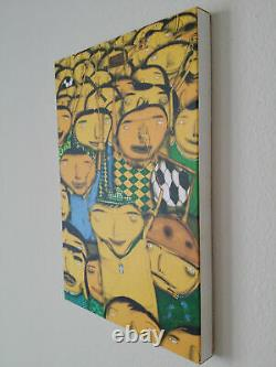 Os Gemeos Nos Somos Penta Print Canvas Vip Invite Book Isnt Banksy Kaws Fairey
