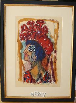 Otto Dix Contessa museales Meisterwerk mit erstklassiger Leuchtkraft sehr selten