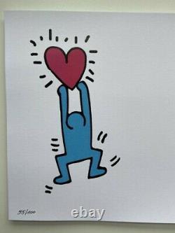 (OxO) Banksy & Andy Warhol banana bang Keith Haring + COA