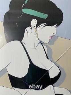 PATRICK NAGEL Vintage 1988 Art Print The Playboy Portfollio POSTER ONLY