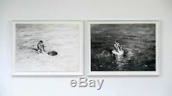 PEJAC Yin-Yang Diptych Signed Art Print Set Edition of 90 COA Confirmed