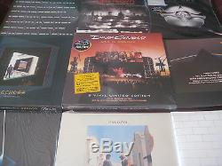 PINK FLOYD Waters Gilmour 45 LP MANY OUT OF PRINT LIMITED EDITIONS RARE SET