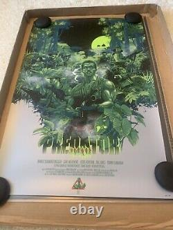 PREDATOR Night Ops Screen Print Poster by Vance Kelly not Mondo #325