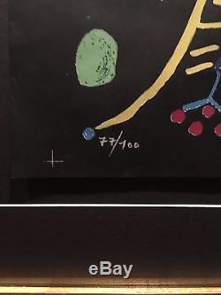 Pablo Picasso La Femme aux des (Jacqueline) Hand-signed Mourlot Lithograph