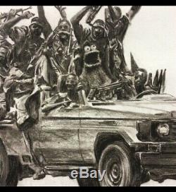 Paco Pomet Internacional 10th Anniversary B/W Print Dismaland Banksy