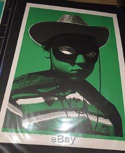 Paul Insect Bighead (green) 2006 Limited Edition Screen Print
