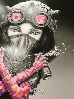 Pez Kunoichi Main Edition Print Sandra Chevrier Martin Whatson Banksy Obey