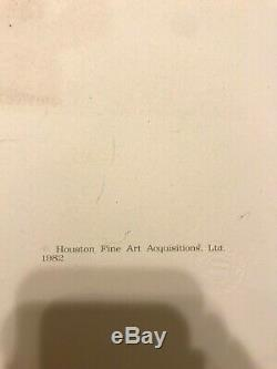 Picasso Original Hand Signed Limited Edition Lithograph (Marina Collection) Face