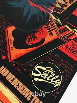 Quentin Tarantino Silkscreen Print by Ken Taylor Mondo Edition of 325 Poster Art