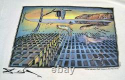 RARE Vintage Salvador Dali Art Museum Long Sleeve T-Shirt, XL Persistence Memory