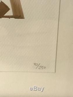 RETNA BRADDOCK TILES PRINT EDITION 250 LIMITED EDITION PRINT Framed