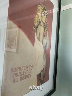 Rare Connor Brothers Framed Print Normal Is The Cruelest Insult