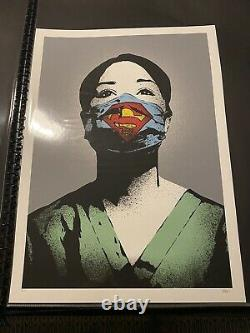 Rare FAKE Super Nurse ARTISTS PROOF Authentic with COA #/25 Signed Numbered AP