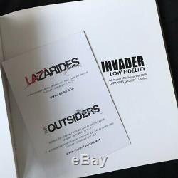 Rare INVADER lo fidelity lazarides gallery london book 2009