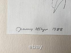 Rare Signed Jenny Holzer Truisms 1988
