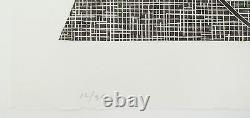Robert Mangold Untitled, 1989-90. Signed, Numbered, Woodcut, fine art print