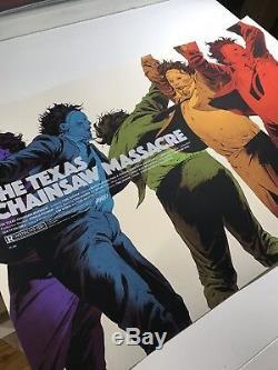 Robert Sammelin Texas Chainsaw Massacre Mondo Movie Print Poster Leatherface Art