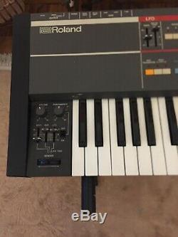 Roland Juno 106 Classic Vintage Analogue Polyphonic Synthesizer, Stand, Book, Box