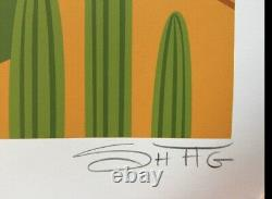 SHAG Josh Agle Desert Polynesia Unframed Serigraph Art Print Palm Springs COA
