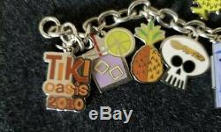 SHAG Josh Agle Tiki Oasis 2010 Pendant Charm Bracelet Not Serigraph Art Print TO