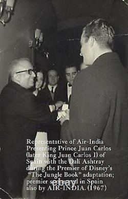 Salvador DALÍ Air India Swan Elephant Dali Ashtray 1967